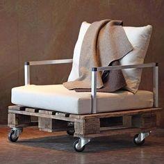 Fabriquer un fauteuil avec des palettes! Voici 20 idées créatives…