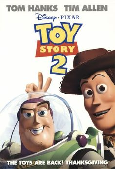 Toy Story 2 1999 ORIGINAL MOVIE POSTER Adventure Animation Comedy - Dimensions: 27 x 41 @ niftywarehouse.com #NiftyWarehouse #Toy #Story #Movie #ToyStory #Pixar