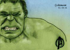 """""""The Avengers : The Hulk""""  © 2012 Mauricio Gomez"""