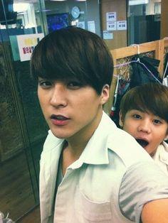 Dongwoon & Yoseob of BEAST (B2ST)