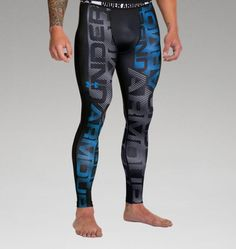 Men's HeatGear® Sonic Branded Compression Leggings
