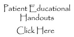 Patient Educational Handouts