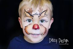 Ideas about reindeer face paint on pinterest christmas face painting