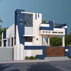 House Balcony Design, House Arch Design, Single Floor House Design, Modern Small House Design, House Outside Design, Modern Exterior House Designs, Village House Design, Kerala House Design, Bungalow House Design
