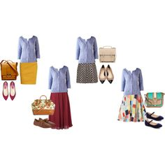 Lanata styled with skirts