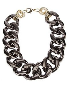 Shop from over styles, including dresses, jeans, shoes and accessories from ASOS and over 800 brands. Chocker Necklace, Chokers, Earrings, Vintage Accessories, Jewelry Accessories, Chunky Chain Necklaces, Jewelry Necklaces, Jewel Choker, Glam Rock