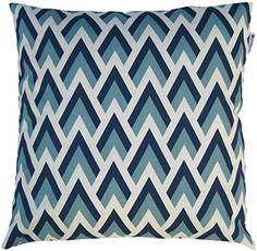JinStyles® Cotton Canvas Chevron Spike Accent Decorative Throw Pillow Cover (Blue, Navy, White, Square, 1 Cushion Sham for 18 x 18 Inserts) JinStyles http://smile.amazon.com/dp/B00GGRSBDE/ref=cm_sw_r_pi_dp_8R5Uwb0T0R10V
