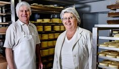 Pat and Ann O'Farrell - Carrigaline Cheeses Cork Christmas Hamper, How To Make Cheese, Chef Jackets, Cork Ireland, Friesian, Cows, Herb, Irish, Garlic