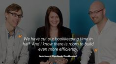 Leah Moore about how Receipt Bank has helped Digit Books