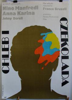 Poster  Italian 1974s film by Franco Brusati by artwardrobe, $23.50