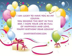 your life happy birthday the charming cousin whole world wishes for sister quotes | Home Design Idea | Pinterest | Happy birthday