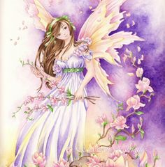 "5x7 Fantasy Fairy Art Print ""Southern Breeze"" Fae.  via Etsy."