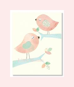 Baby Girl Nursery Art Nursery Art Print Nursery by LittleMonde, $16.00