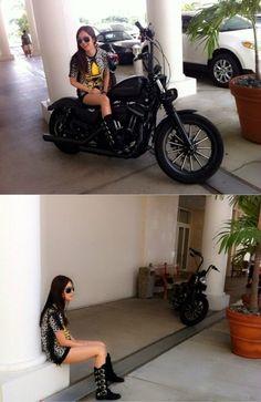 한채아, 오토바이 위에서 섹시하게 `찰칵` :: 네이버 뉴스