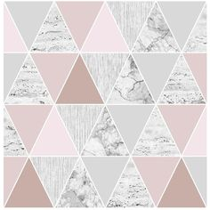 Graham & Brown Reflections Rose Gold Wallpaper (88 BAM) ❤ liked on Polyvore featuring home, home decor, wallpaper, backgrounds, rose gold home decor, geometric wallpaper, shimmer wallpaper, soft pink wallpaper and pale pink wallpaper