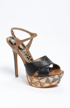 566524212ab Sam Edelman  Mason  Sandal Black  Saddle Leather 9 M in March 2013 Life