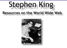 Very Best Stephen King Sites | High Five Sites