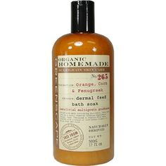 Organic Homemade Orange, Corn, Fenugreek Bath Soak by Asquith & Somerset. $12.99. Beneficial multigrain goodness with this bath soak.. Orange, corn, fenugreek and organic aloe vera. Truly remedial bathing experience.. 500 ml or 17 fl oz. Greenscape by Asquith and Somerset. combine with a blend of multigrain cereals to relax body and mind.. 500 ml or 17 fl oz. Greenscape by Asquith and Somerset has produced beneficial multigrain goodness with this bath soak.Pac...