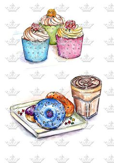 Cupcakes and Donuts - Doll Memories
