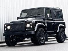 Land Rover Defender Harris Tweed Edition por Khan :O