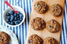 High-Protein Snacks: Clean Blueberry Protein Muffins
