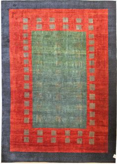 Gabbeh & Tulu Rugs Gallery: Persian Gabbeh Rug, Hand-knotted in Persia; size: 8 feet 3 inch(es) x 11 feet 3 inch(es)