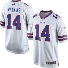 Sammy Watkins Buffalo Bills Nike Game Jersey - White c2652e9ff