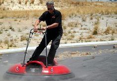 Air Board gets you up and moving in style | Ubergizmo...man, why am I this old?  I want to do this!