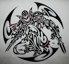Tribal Zed by Esmeekramer
