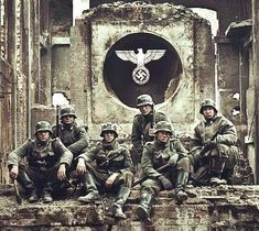 SS soldiers which were very strong and some of the most ruthless and best soldiers in Hitlers army which can be related to the modern marines.
