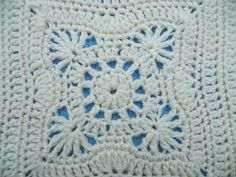 Ravelry: Maryfairy's Chocolate Delight Square for Cream Afghan II