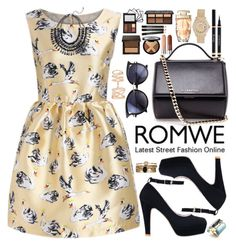 """""""Romwe"""" by oshint ❤ liked on Polyvore featuring Givenchy, Rolex, Accessorize, Alexis Bittar, Repossi, beautiful and romwe"""