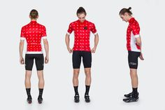 Tenspeed Hero Men's TSH Resort Red Sprinkles Jersey