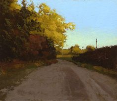 Dirt Road Outside Columbia, 6 x 7 marc bohne