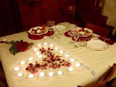Cena romantica.