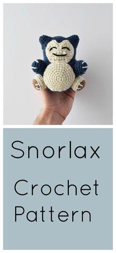 Free Snorlax Amigurumi Pattern!