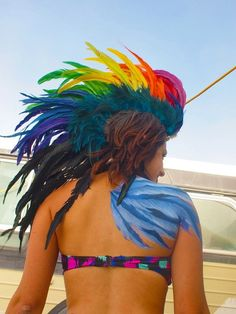 A Burning Man hairstyle?