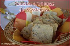 Deliciosas Galletas crujientes de cacahuetes