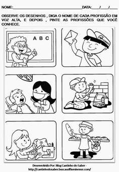 Oi gente!!!   Dia 1º maio é o dia mundial do trabalho. Que tal trabalhar esta data com seus alunos?       Clique nas imagens para vê-las em ... Community Helpers Worksheets, Coloring Sheets For Kids, Picture Boards, Social Studies, Kindergarten, Homeschool, Teaching, Comics, Data