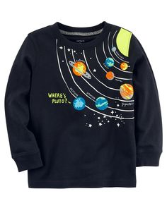Kid Boy Moon Jersey Tee from Carters.com. Shop clothing & accessories from a trusted name in kids, toddlers, and baby clothes.
