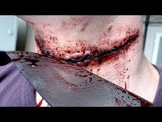 Maquillage Effets Spéciaux : Gorge Tranchée sur Zelvac