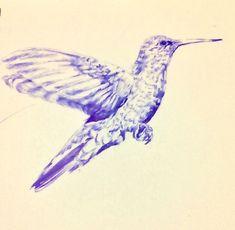 "María José Huerta Osses on Instagram: ""Dibujando. Lápiz_bic........................................................…"" Maria Jose, Bird, Instagram, Vegetable Garden, Drawings, Birds"