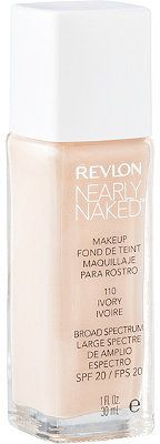 Revlon Nearly Naked - buildable natural coverage for dry skin. One of my very favorites across all price ranges.