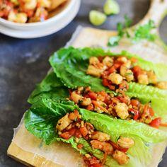 Shrimp Lettuce Wraps   fit-fun-delish.com #lettucewraps #dinner #healthy
