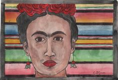 AnaMaria is an artist based in the panhandle of Texas. Her western influences have been her inspiration for her artwork. Her original artwork portfolio can be seen and bought here art prints, plus much more. Original Artwork, Watercolor, Art Prints, Artist, Pattern, Painting, Frida Kahlo, Pen And Wash, Art Impressions