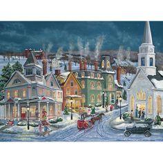 Winter's Eve 500 Piece Jigsaw Puzzle