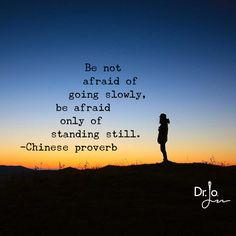 Want to lose weight? You don't have to make BIG changes. Every little change counts. Read more here...Be not afraid of going slowly, be afraid only of standing still. ~Chinese proverb