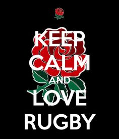 KEEP CALM AND LOVE RUGBY