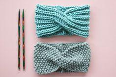 Free knitting instructions: headband with twist Free knitting instructions . - Free knitting instructions: headband with twist Free knitting instructions: headband with - Knitting Patterns Free, Free Knitting, Baby Knitting, Crochet Baby, Crochet Bikini, Knit Crochet, Easy Knitting Projects, Knitting For Beginners, Boyfriends