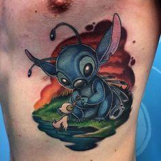 My brother's Stitch piece [Freddy at Bu-Hu Tattoo Bodø Norway]